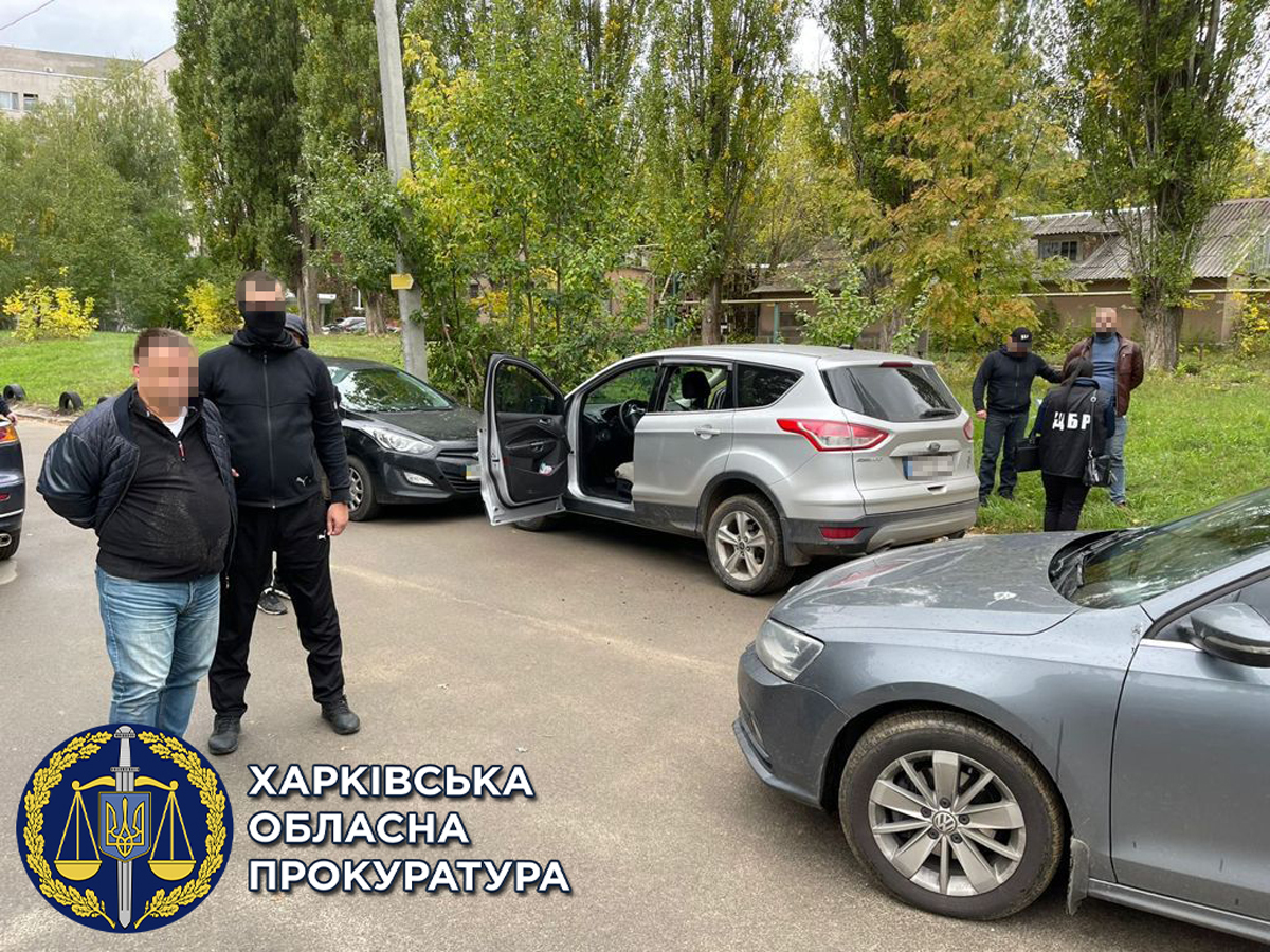 Налоговиков задержали на взятке в Харькове. Прокуратура Харьков