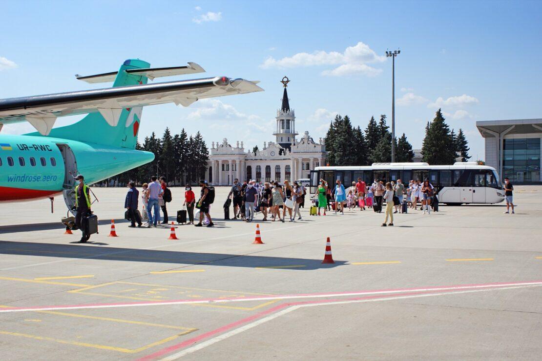 Новости Харькова: Аэропорт превысил допандемийные показатели