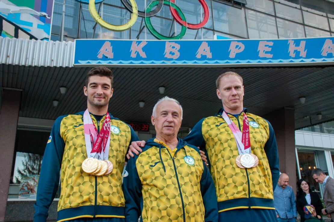 Спорт Харьков: Встреча паралимпийцев Крипака и Вераксы