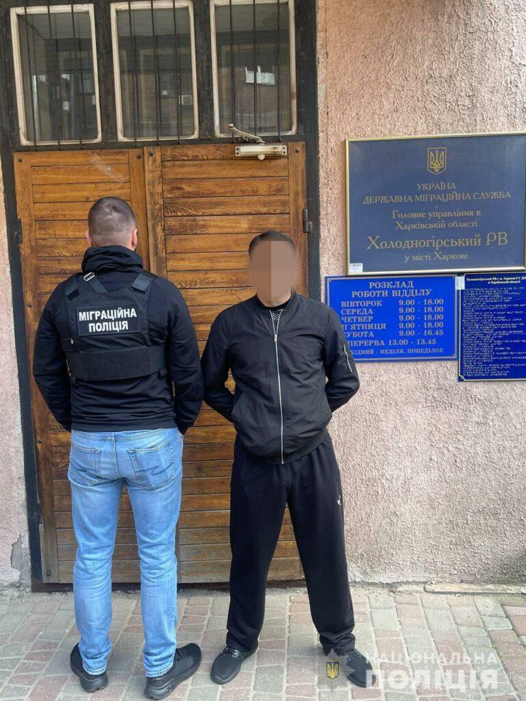 На Харьковщине задержан бывший уголовник из Азербайджана
