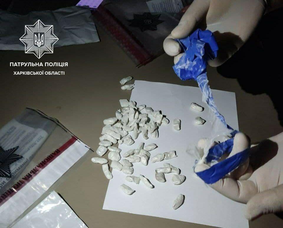 Новости Харькова: Водитель с наркотиками давал взятку полицейским