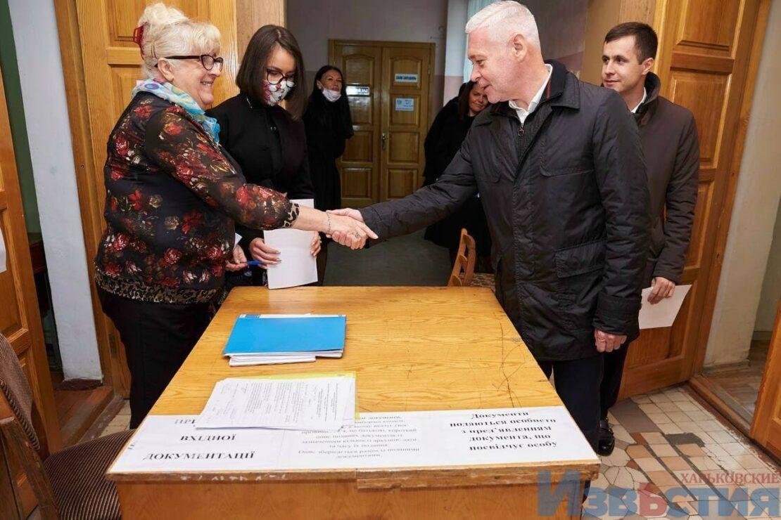 Выборы мэра Харькова кандидаты: Терехов подал документы в ТИК