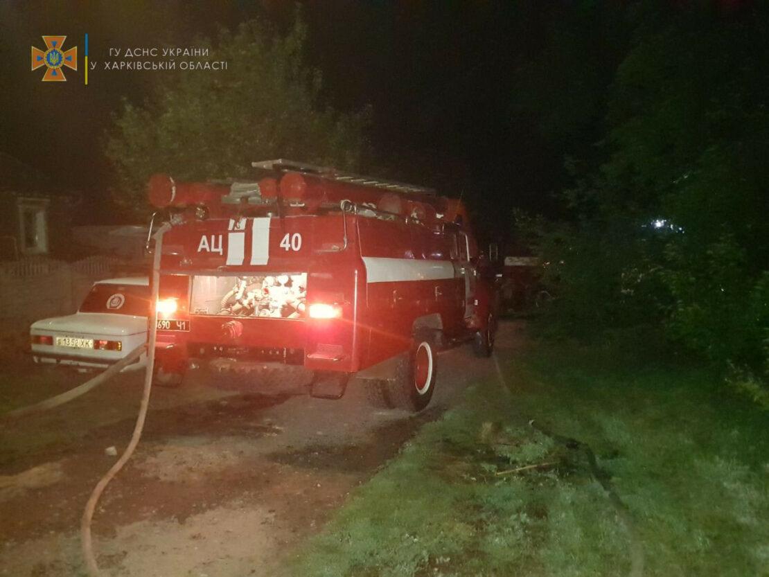 Пожар в Ольшанах под Харьковом ликвидировали  05.09.2021