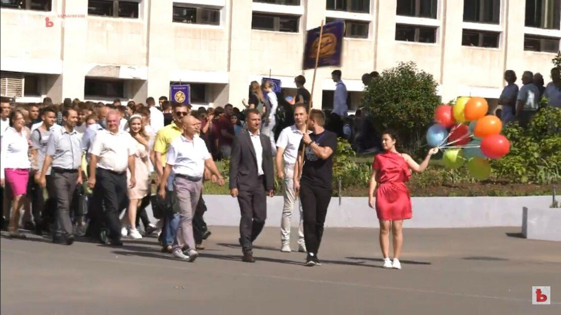Новости Харькова: Посвящение в студенты в политехе