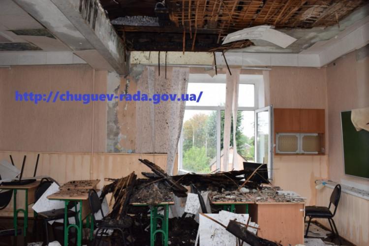 Пожар в Чугуевском лицее № 2: Где будут учиться дети, прокомментировали в мэрии. Новости Харькова