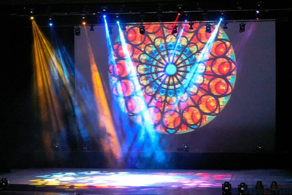 «Light & Space»: световое шоу в Харькове (фото)