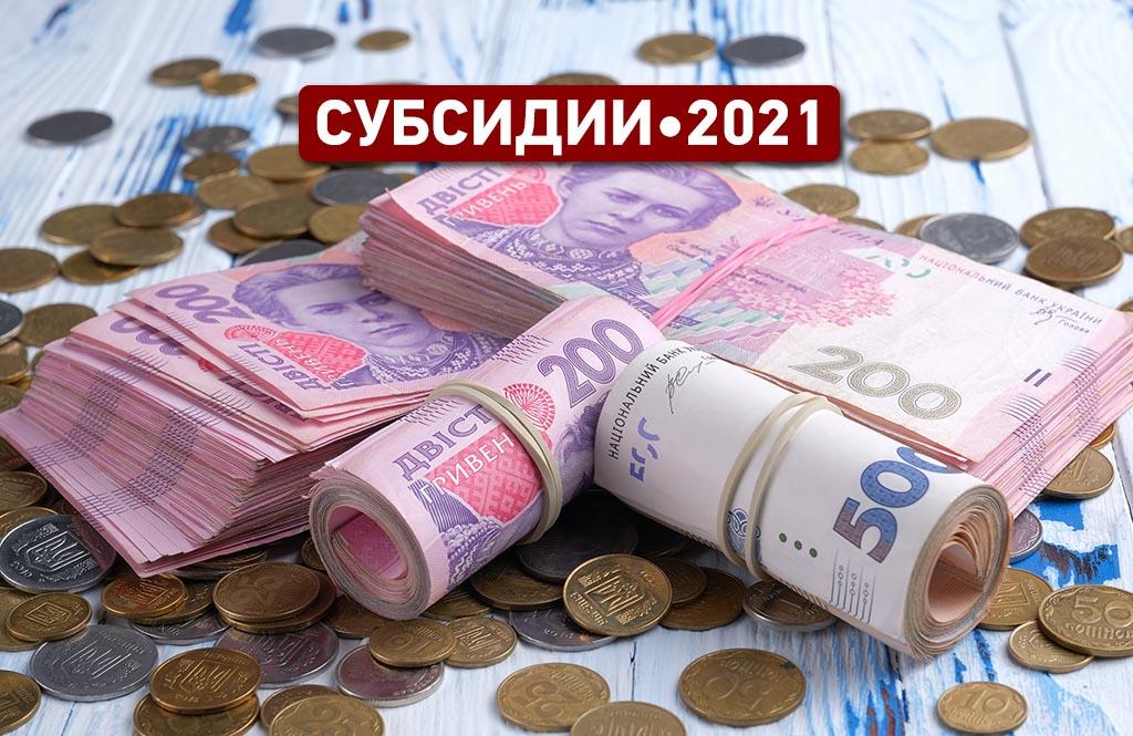 В Украине изменились правила оформления субсидий