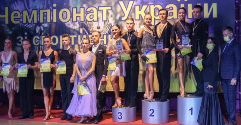 Харьковчане взяли первенство на Чемпионате по спортивным танцам