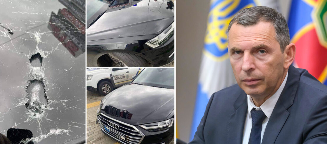 Расстреляли автомобиль Сергея Шефира: подробности и версии. Новости Украины