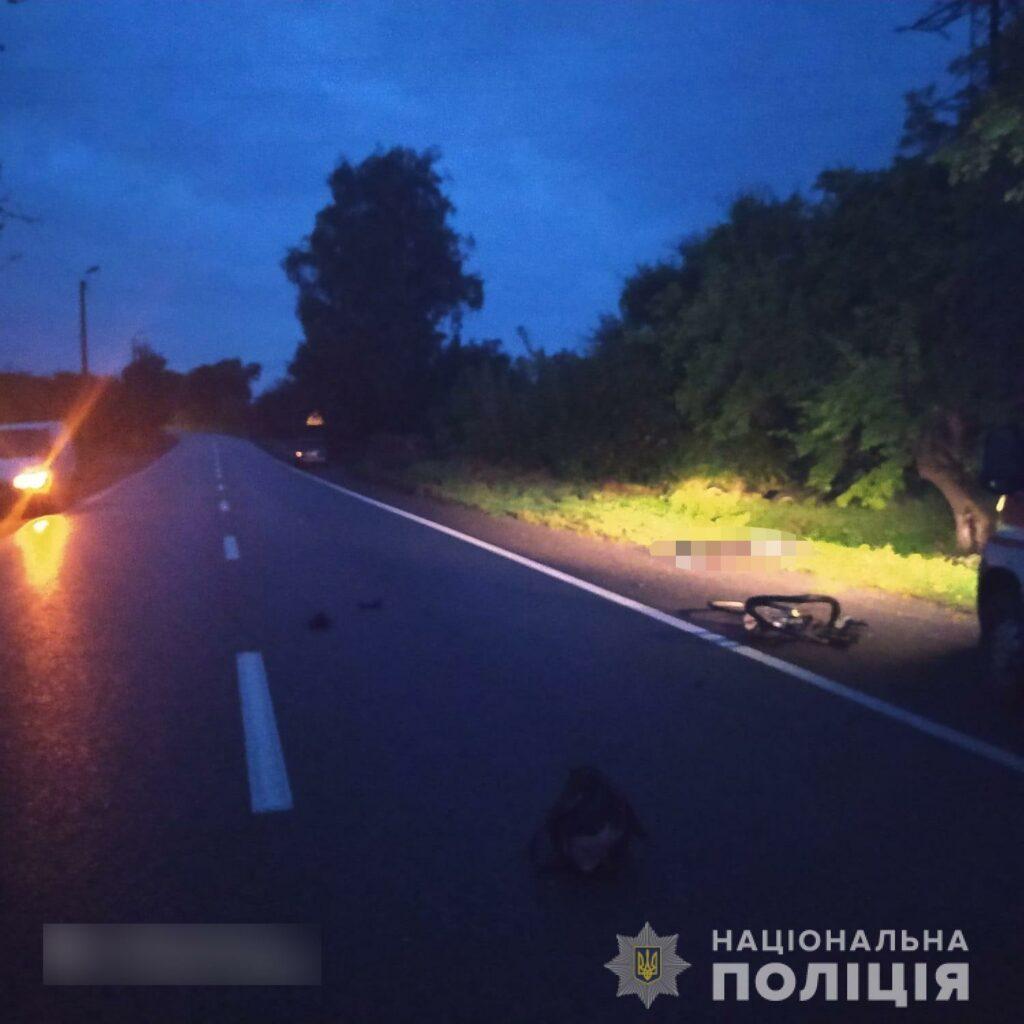 В Богодухове в ДТП погибла 52-летняя велосипедистка