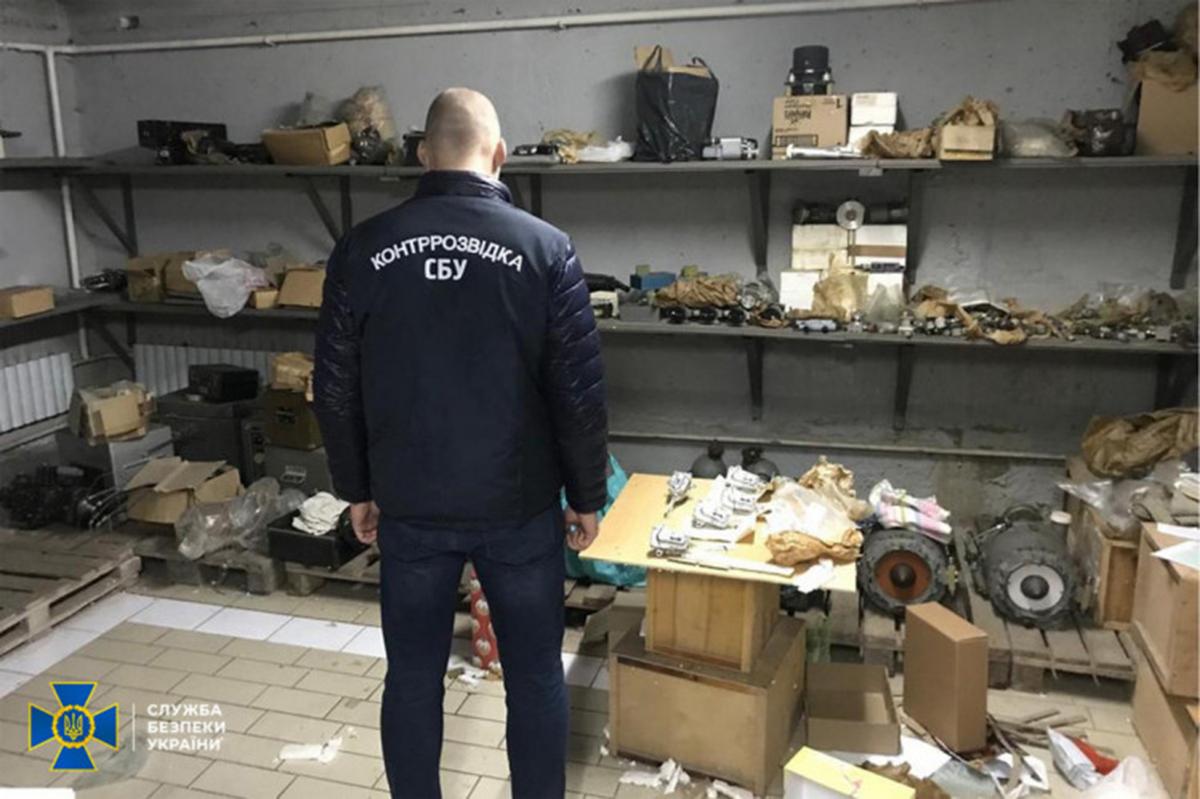 СБУ Харьков: Силовики выявили схему поставок комплектующих к военным самолетам России
