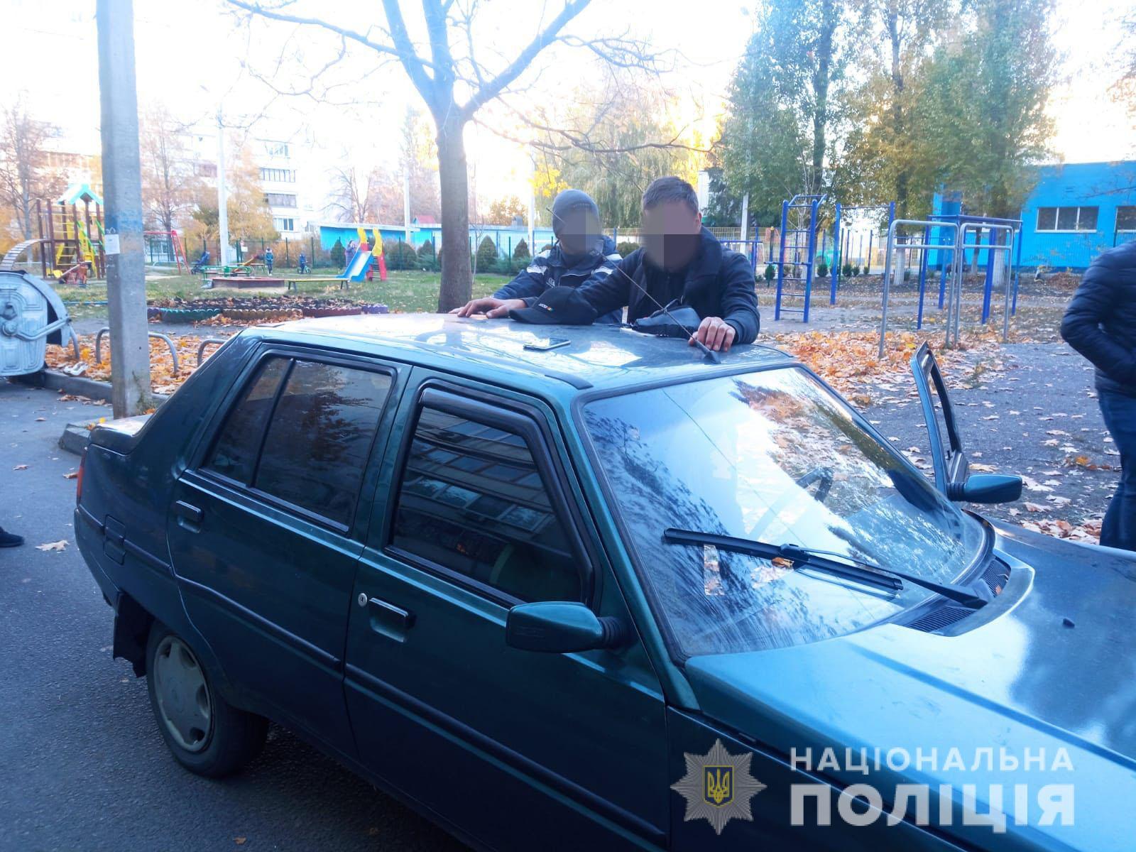Происшествия Харьков: На улице Грицевца нашли угнанный «ЗАЗ Славута»