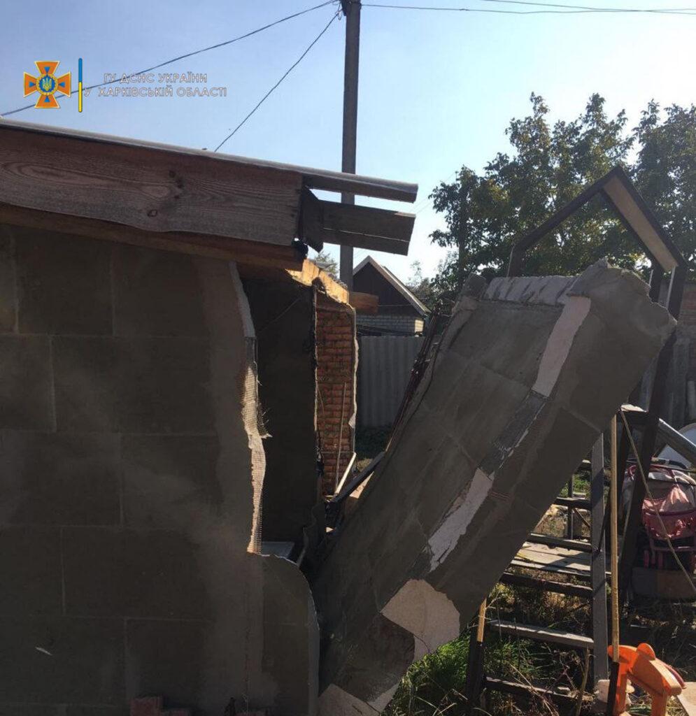 Взрыв газа в жилом доме в селе Наталино - Новости Харьковщины