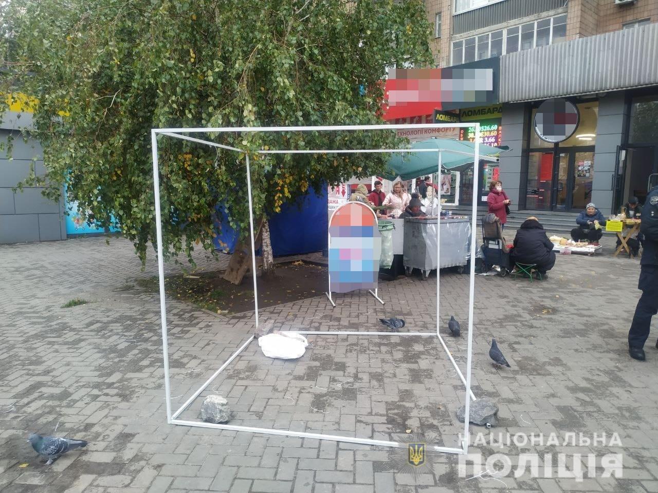 Выборы мэра Харькова 2021: нападение на агитационные палатки