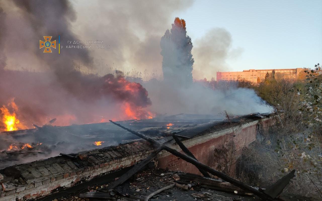 Пожар Харьков: Горела школа-интернат на улице Шевченко