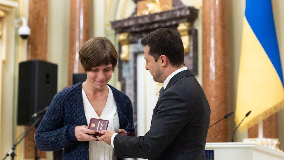 Государственные награды ко Дню учителя вручили харьковчанам 2021