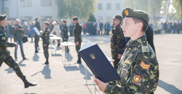 263 харьковских кадета дали клятву на верность украинскому народу