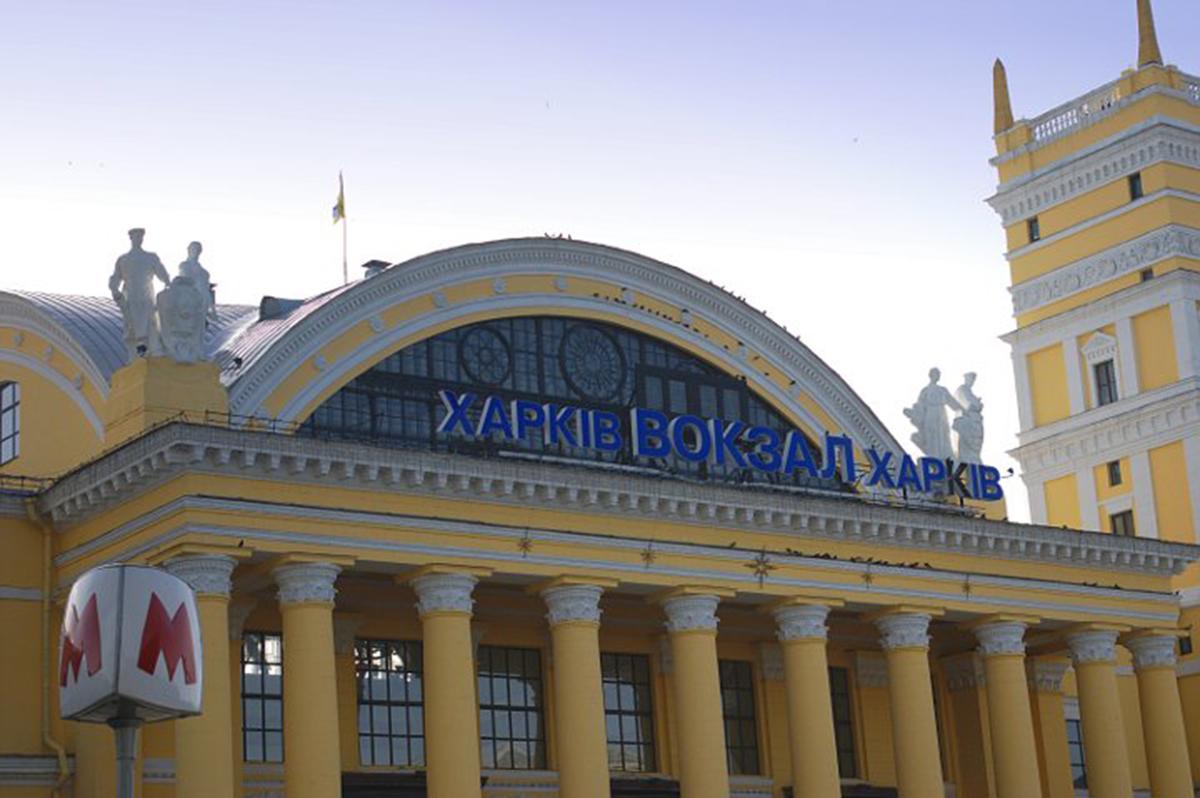 Коронавирус Харьков: Пункт вакцинации на Южном вокзале