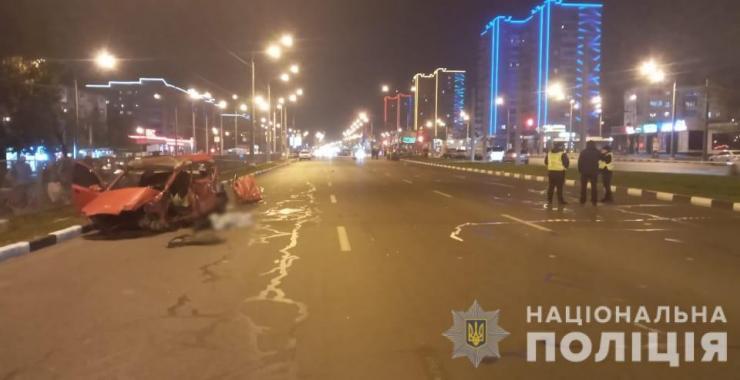 Смертельное ДТП на проспекте Гагарина в Харькове