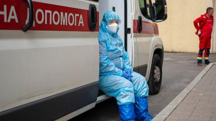Дополнительные койки для больных COVID в Харькове