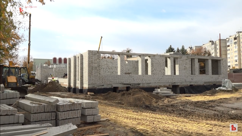 В Песочинском детском садике продолжается строительство