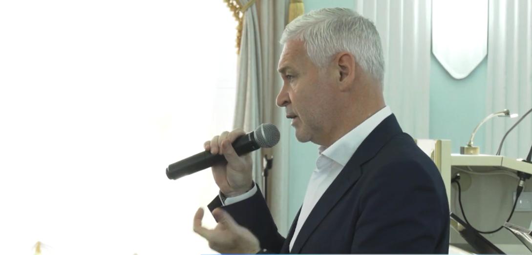 Игорь Терехов встретился с коллективом университета им. Ярослава Мудрого