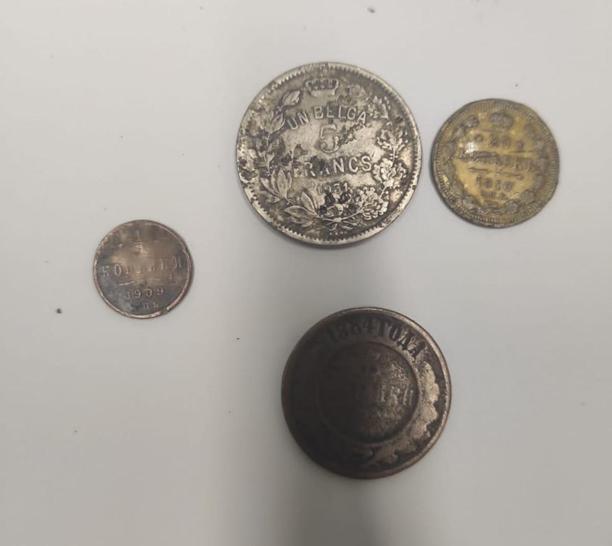 Таможня Харьков: На Гоптовке выявили старинные монеты