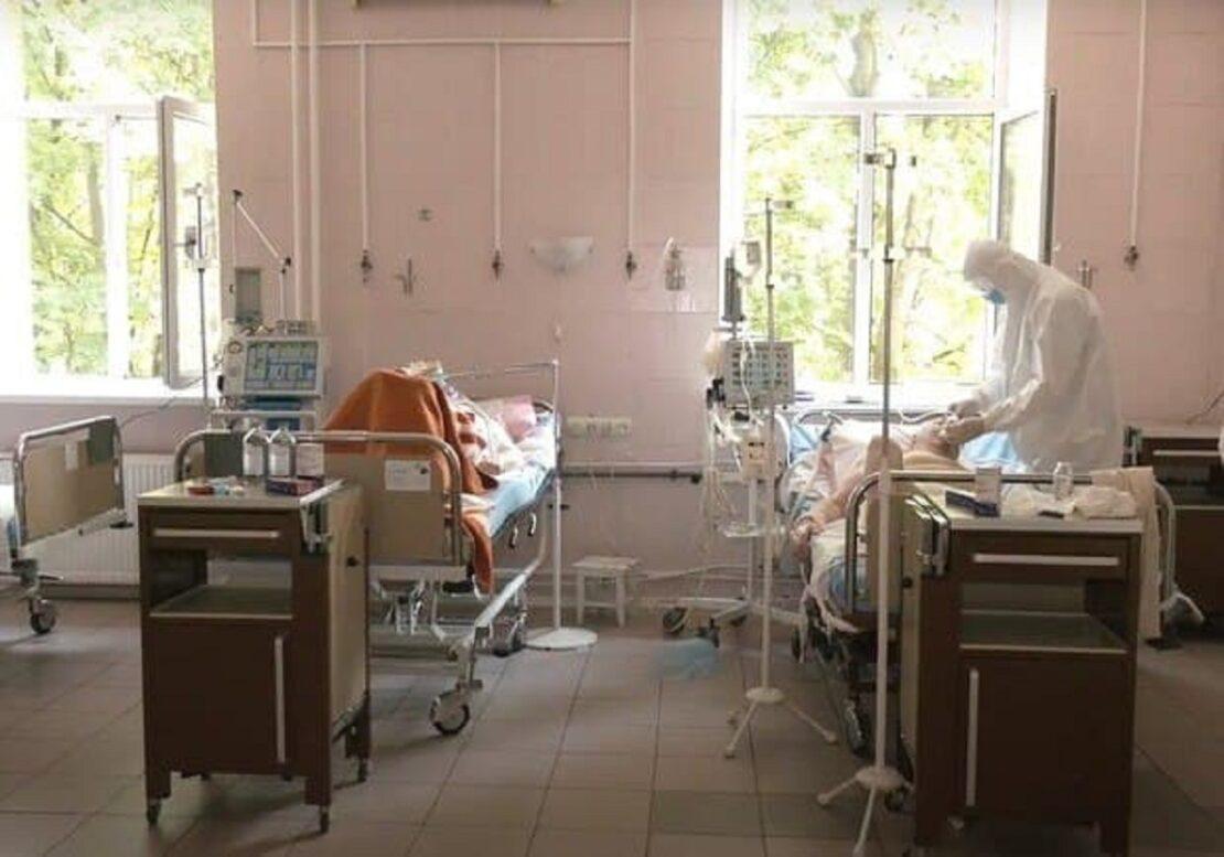 В шести опорных больницах заполнено 95% коек — Харьковская ОГА