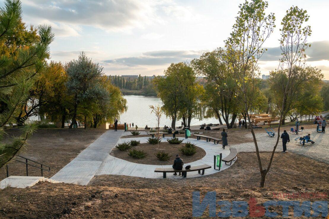 Петренковское озеро в Харькове после реконструкции - Фото Харькова