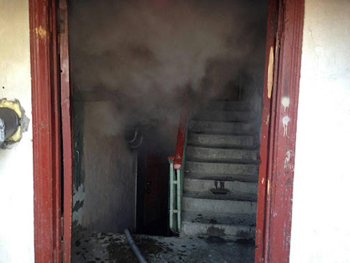 Пожар в Харькове: На проспекте Юбилейном,34 горел мусоросборник - спасатели эвакуировали людей