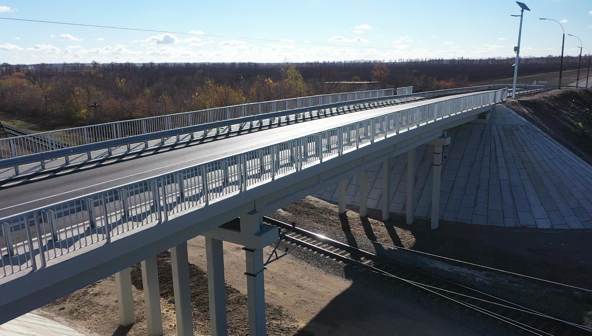 Как выглядит современный новый мост на Купянщине