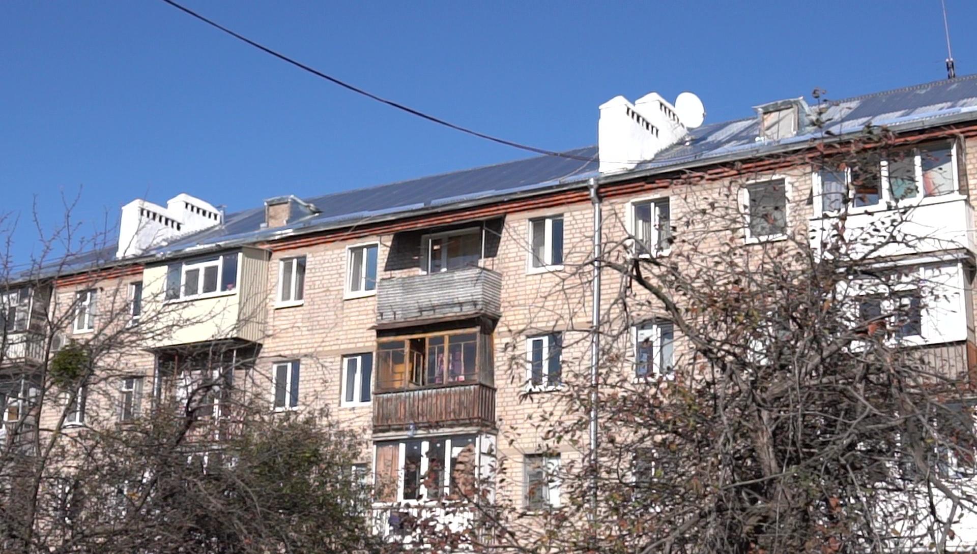 В Новобаварском районе Харькова пятиэтажки получили новую жизнь